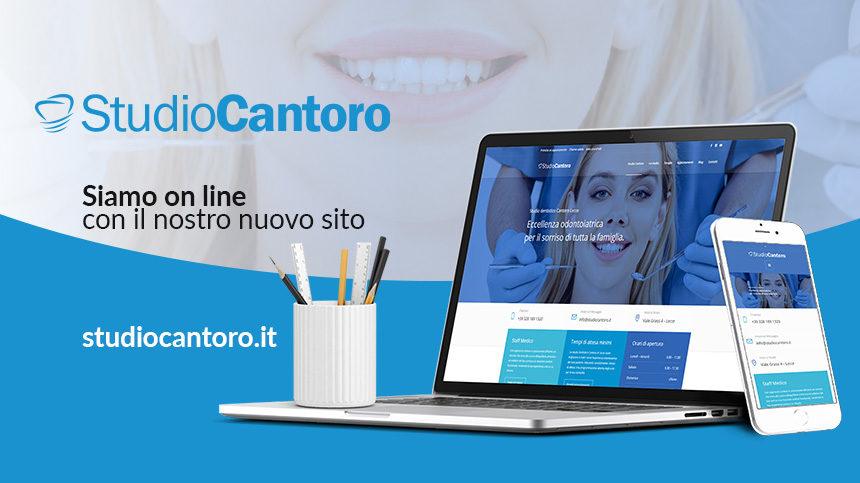 Online il nuovo sito dello Studio Odontoiatrico Cantoro